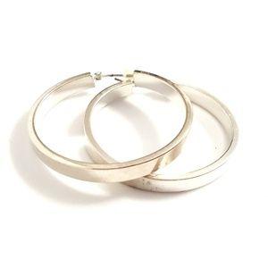 4/$15 💖 Chaps chrome tone earrings. GUC